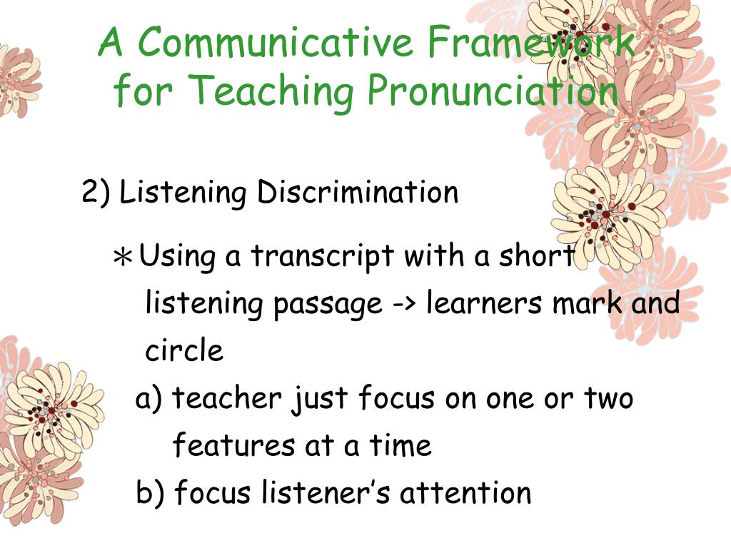 A Communicative Framework