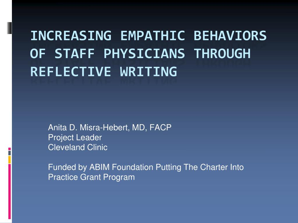 Anita D. Misra-Hebert, MD, FACP