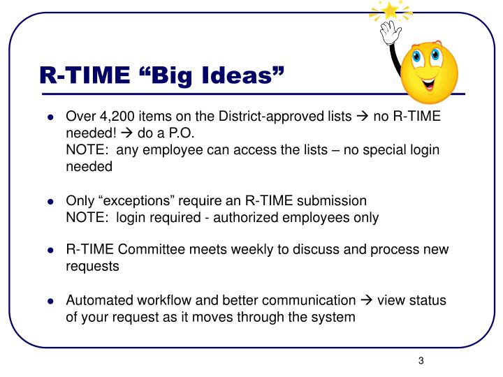 R time big ideas