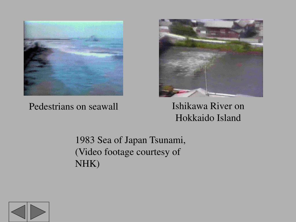 Ishikawa River on Hokkaido Island