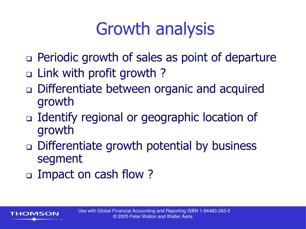 Growth analysis