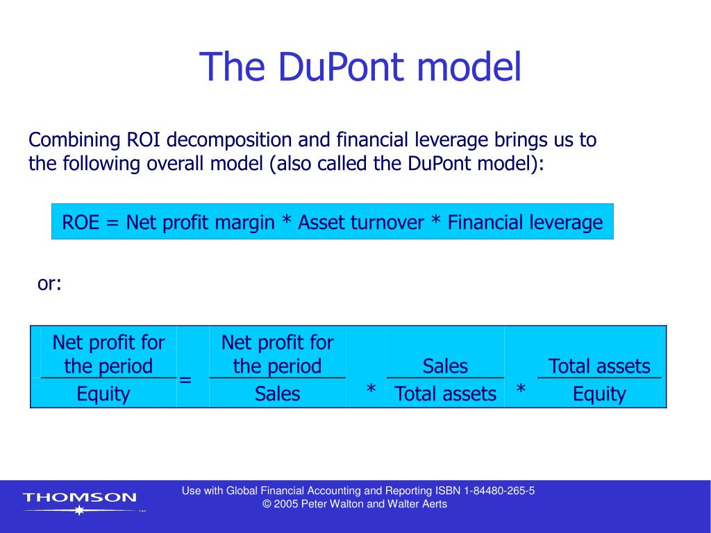 The DuPont model
