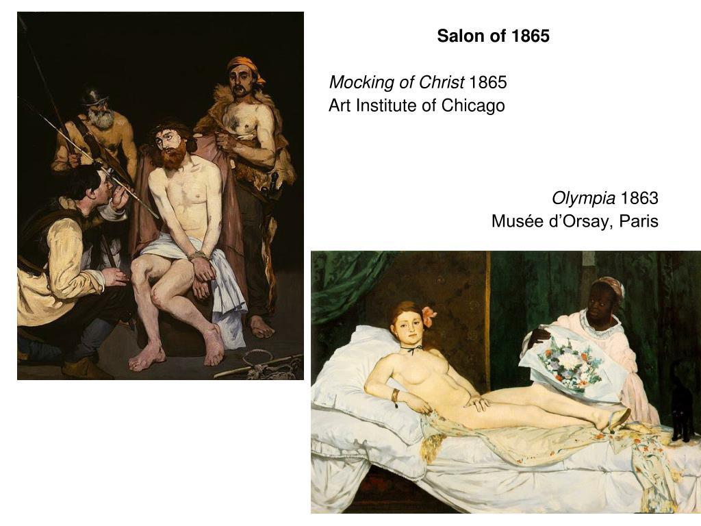 Salon of 1865