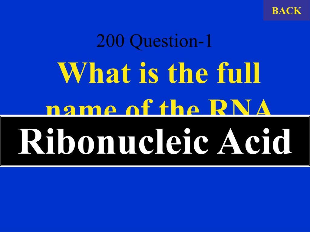 200 Question-1