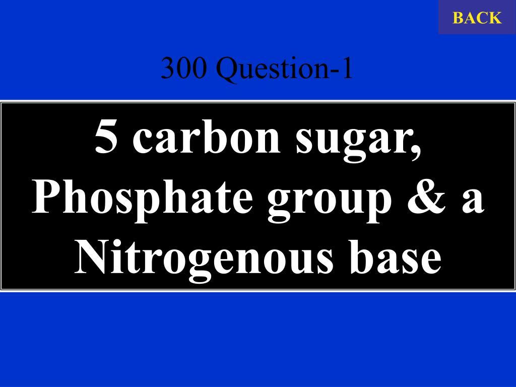 300 Question-1