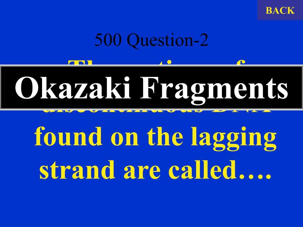 500 Question-2