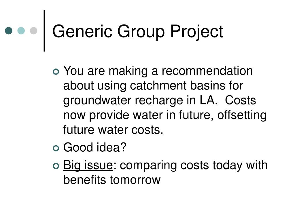 Generic Group Project