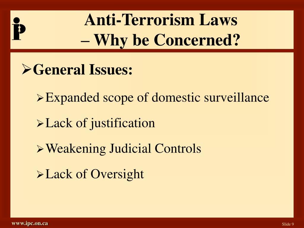 Anti-Terrorism Laws