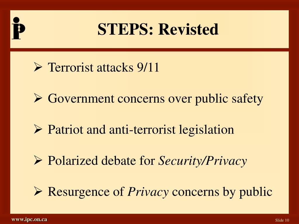 STEPS: Revisted