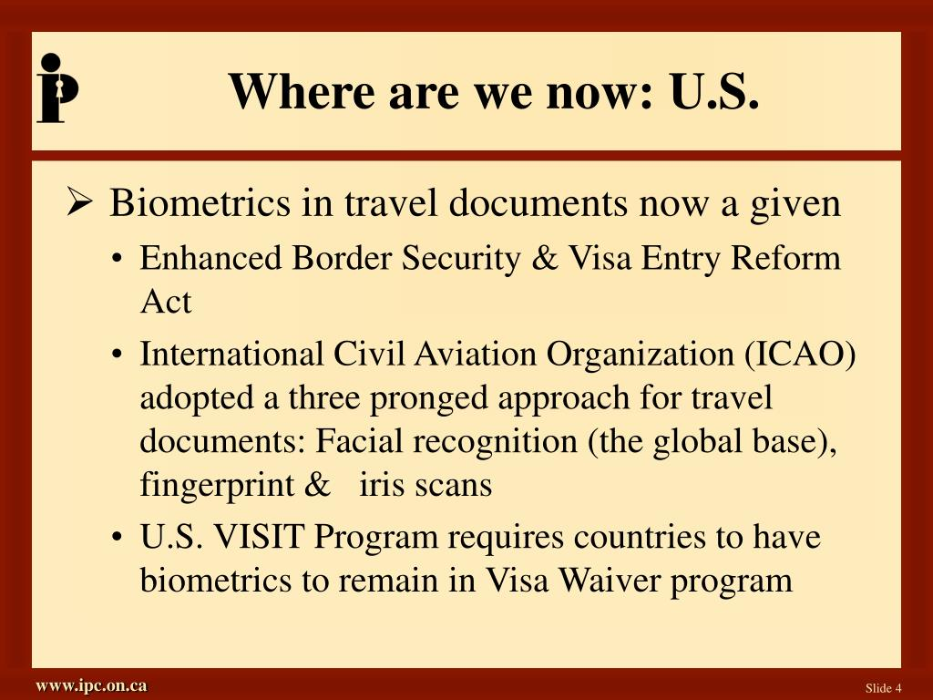 Where are we now: U.S.