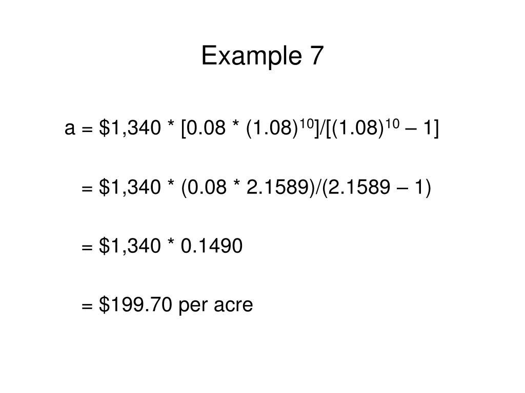 Example 7