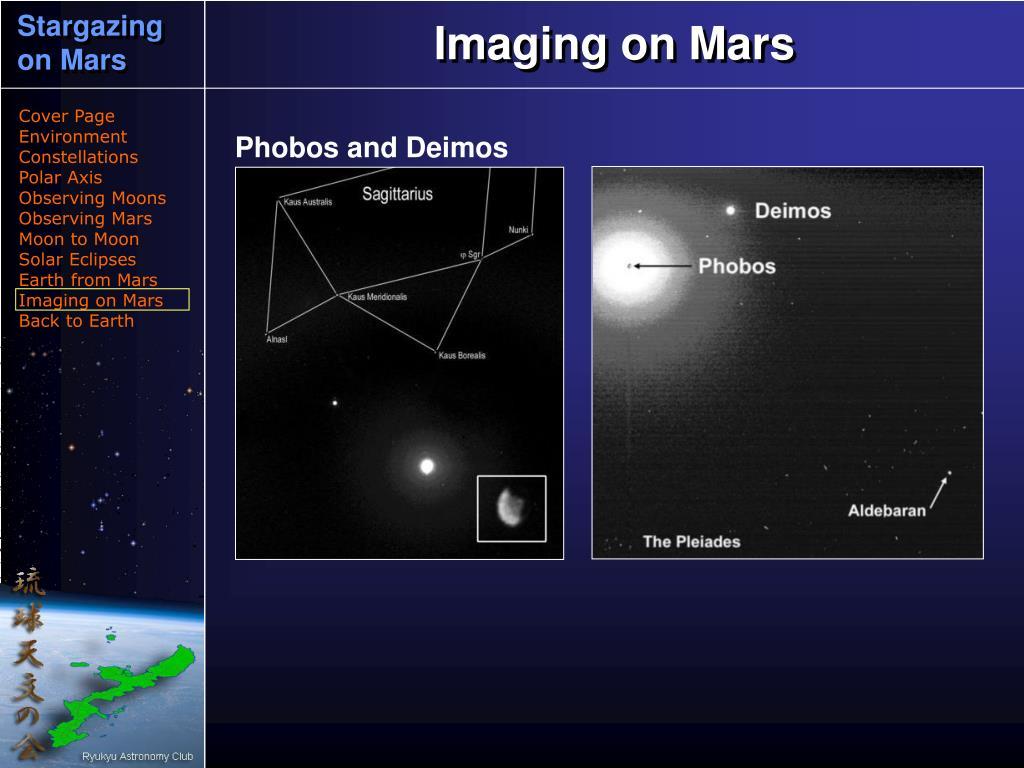 Imaging on Mars