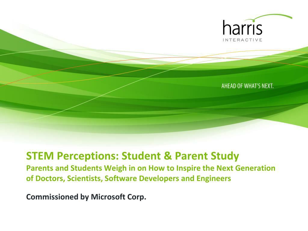 STEM Perceptions: Student & Parent Study