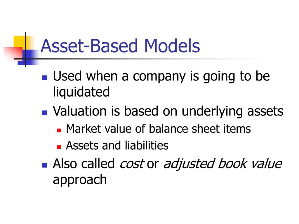 Asset-Based Models
