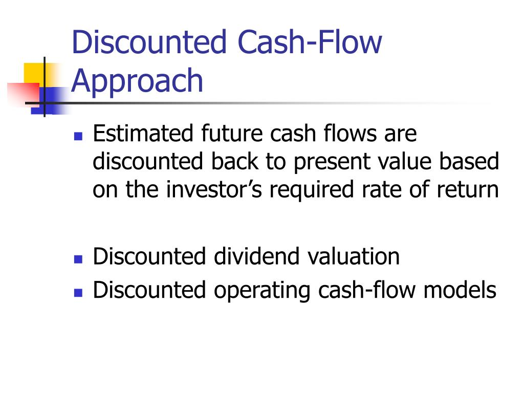 Discounted Cash-Flow Approach