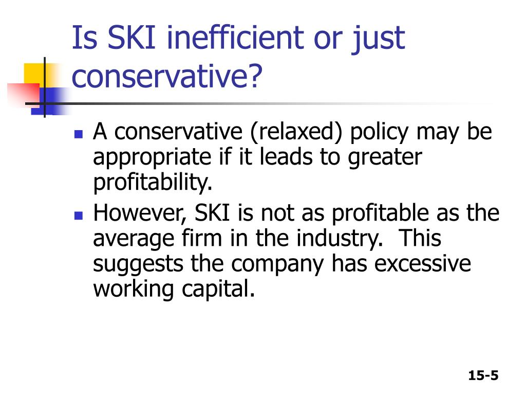 Is SKI inefficient or just conservative?