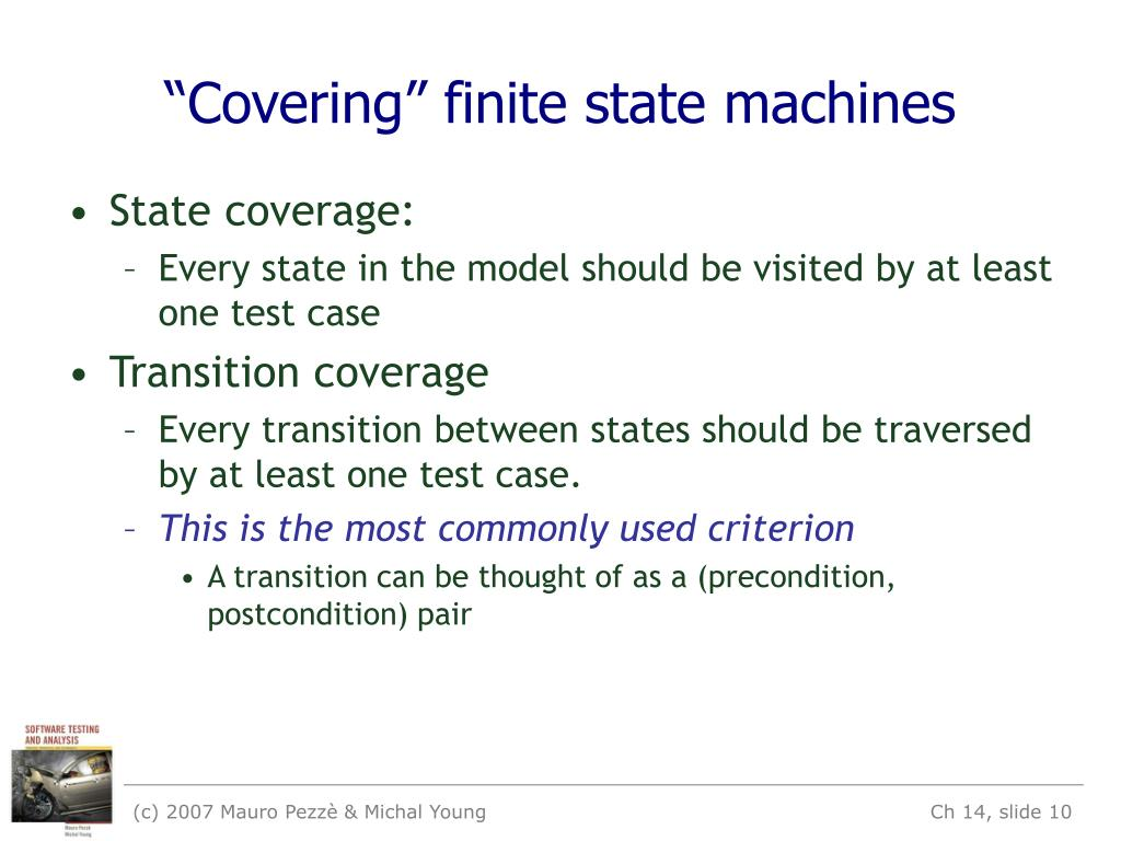 """Covering"" finite state machines"