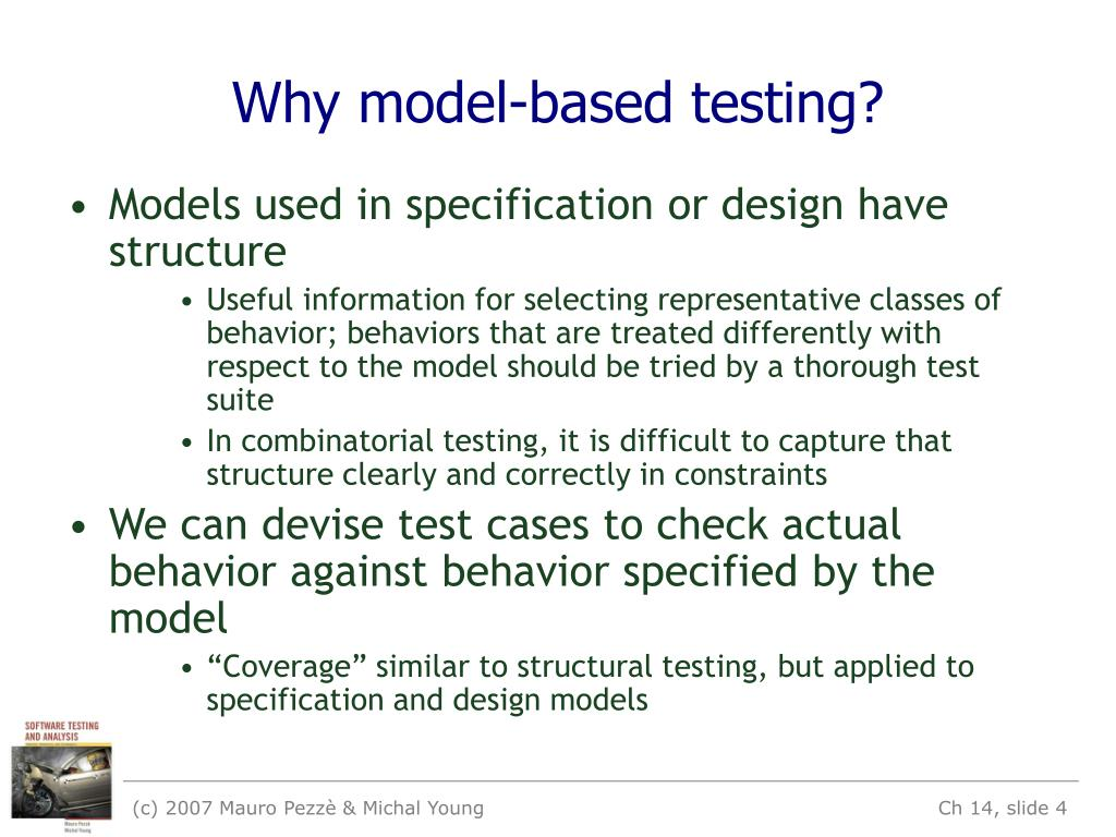 Why model-based testing?