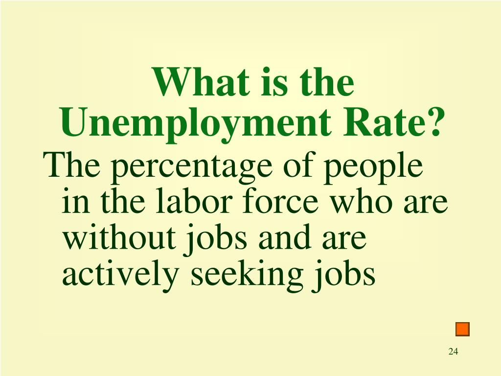 What is the Unemployment Rate?