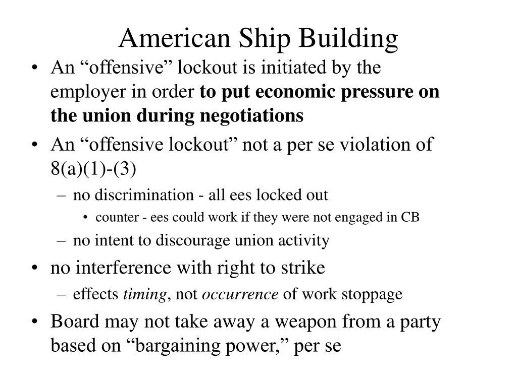 American Ship Building