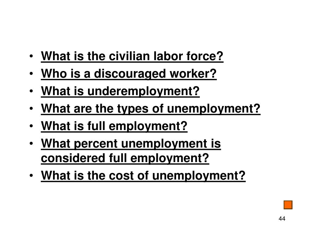 What is the civilian labor force?