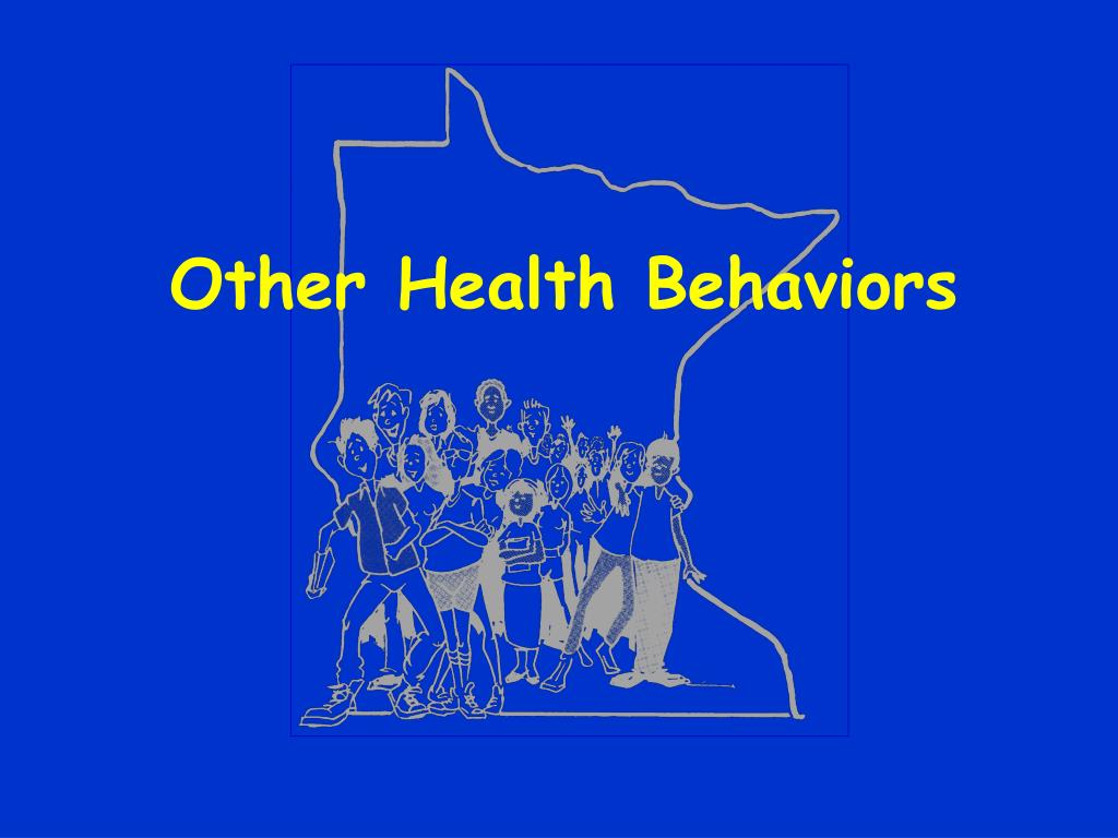 Other Health Behaviors