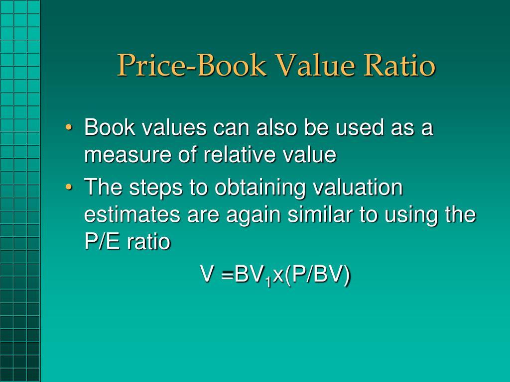 Price-Book Value Ratio