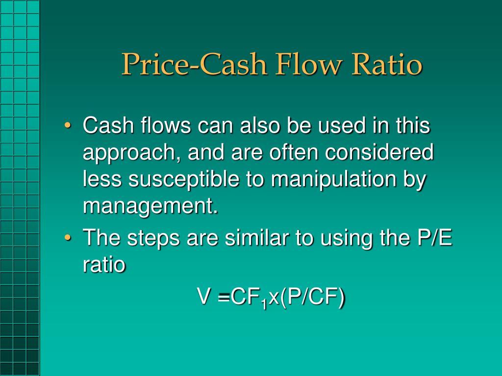 Price-Cash Flow Ratio