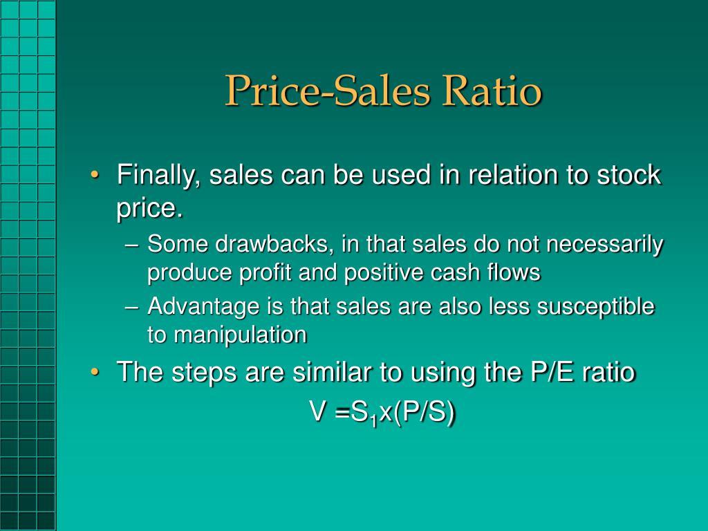 Price-Sales Ratio