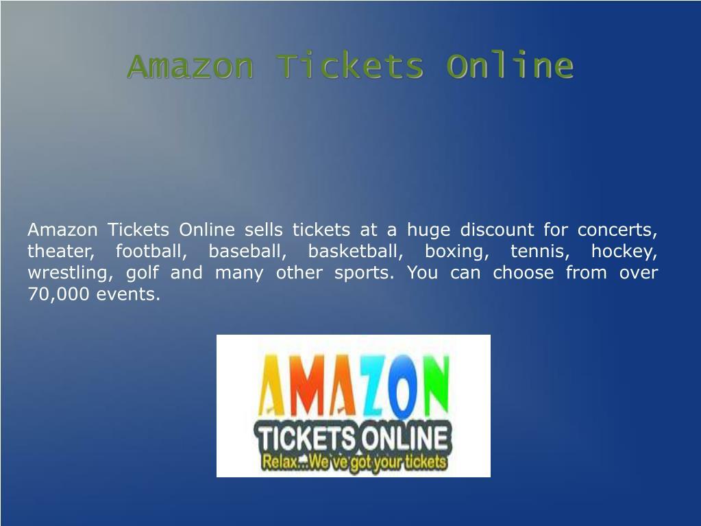 Amazon Tickets Online