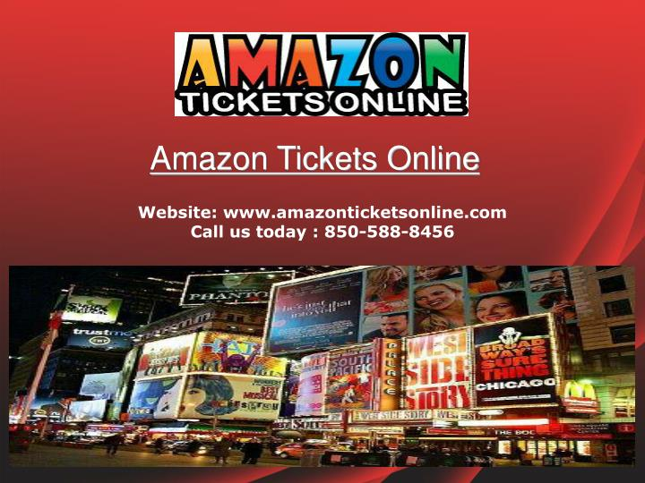 Amazon Tickets Online