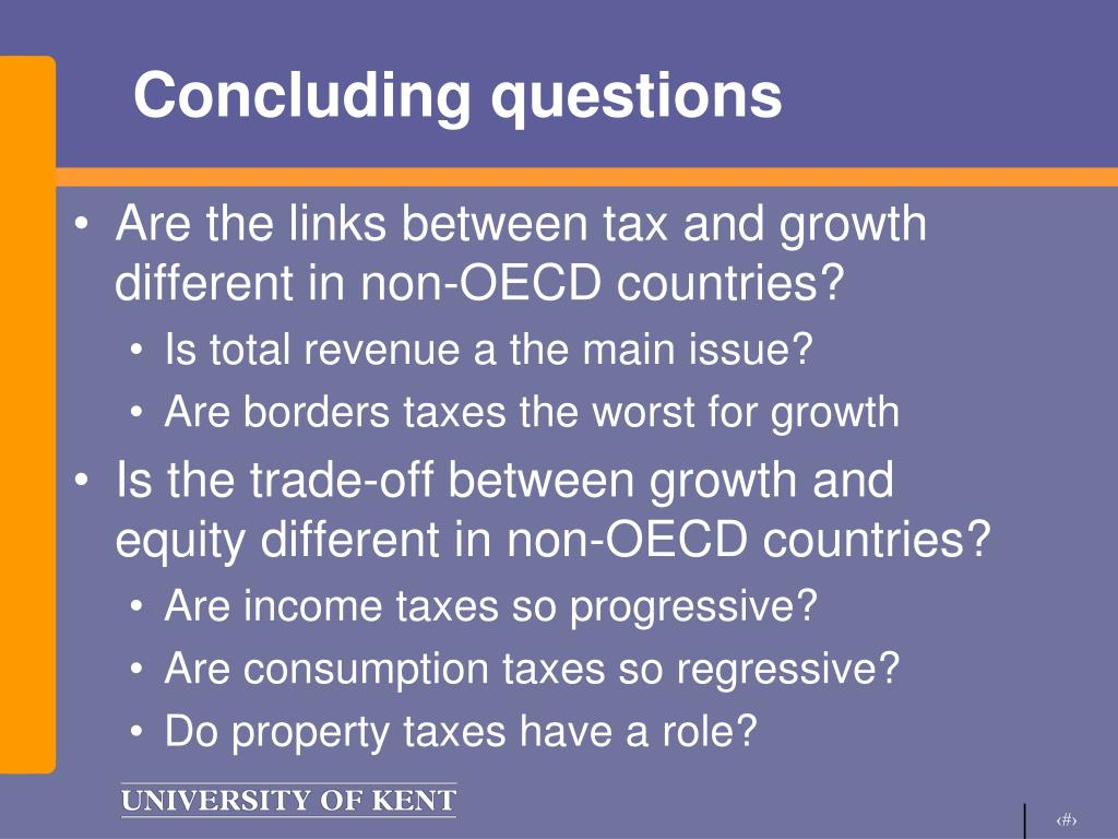 Concluding questions