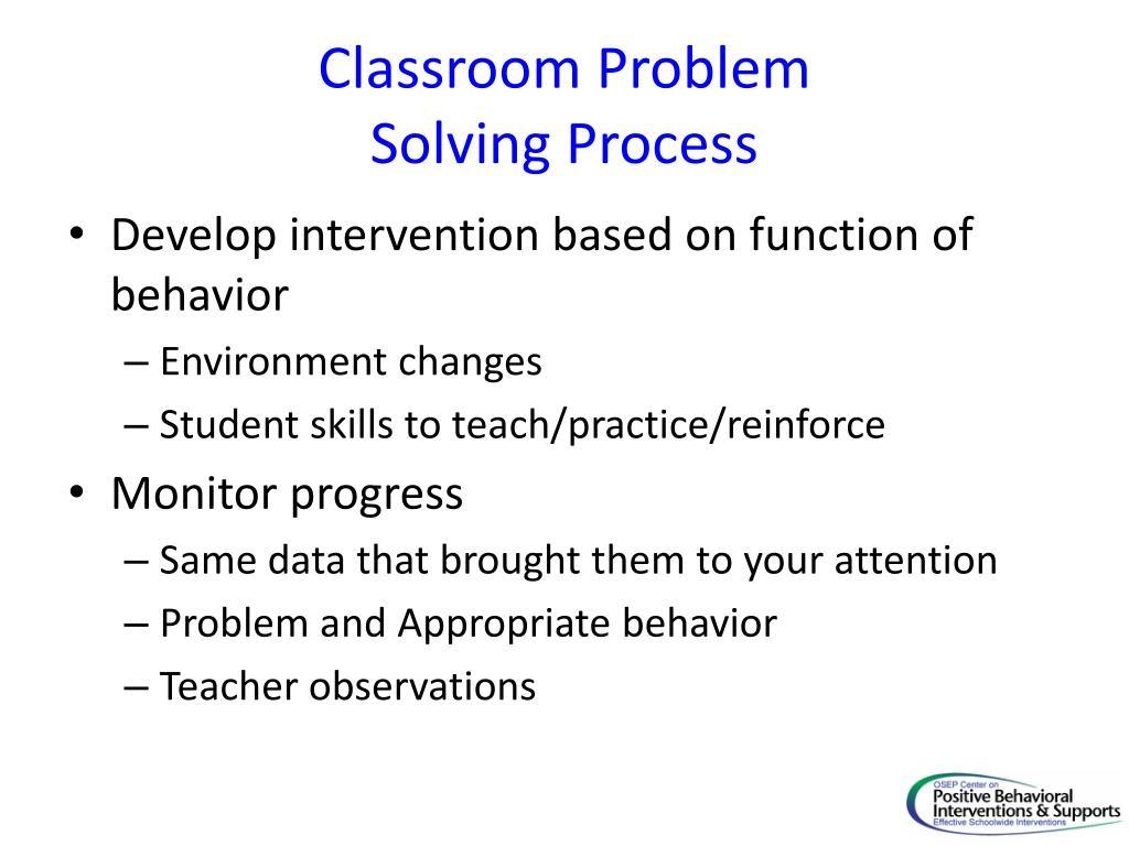 Classroom Problem