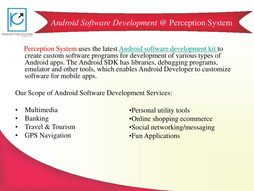 Android Software Development @