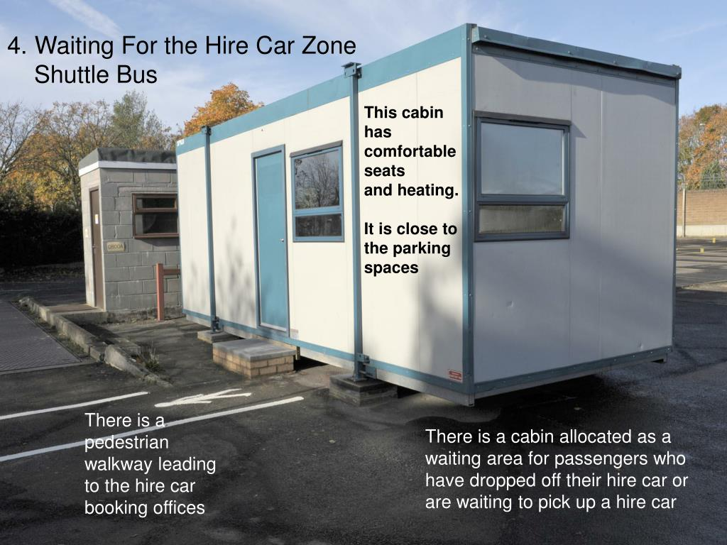 Waiting For the Hire Car Zone