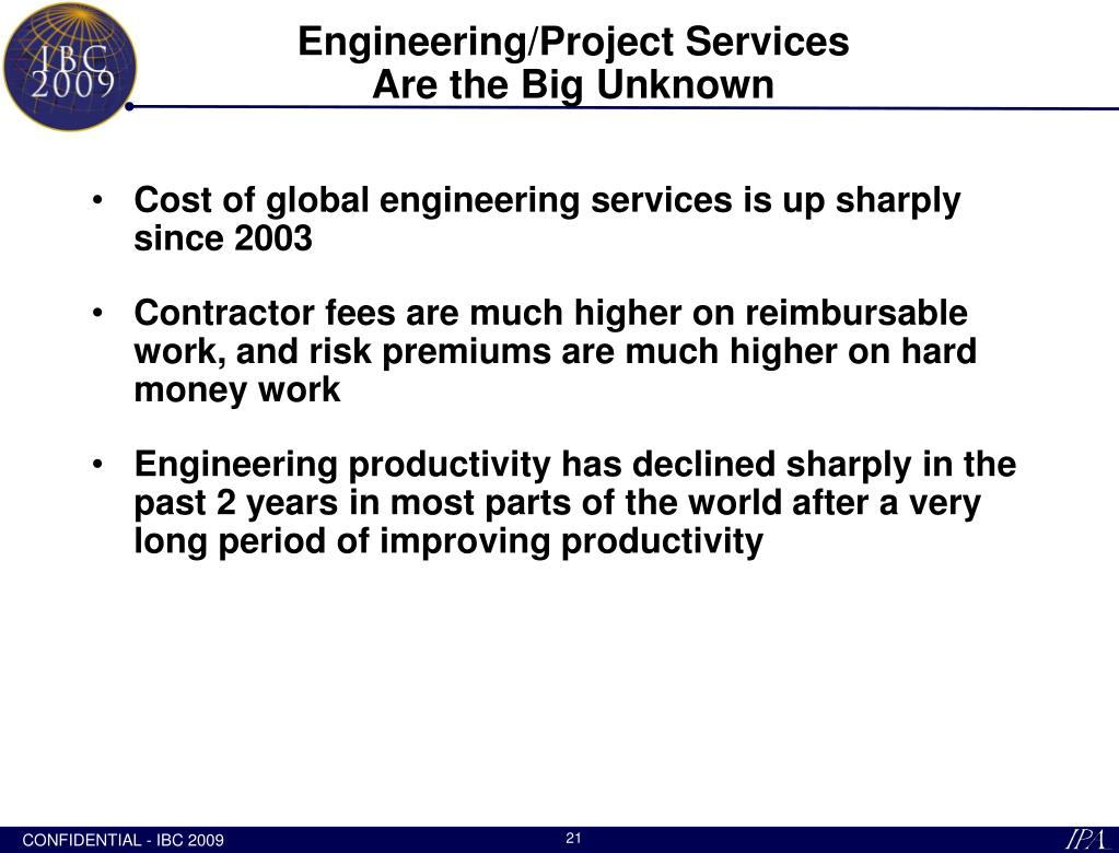 Engineering/Project Services