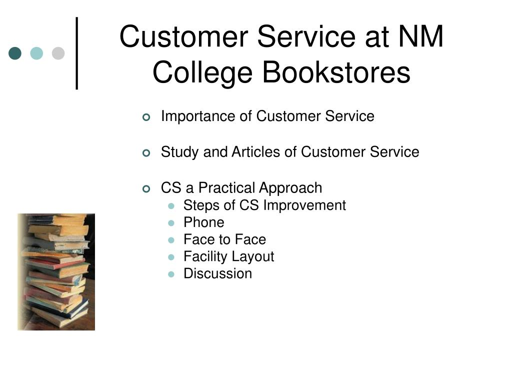 Customer Service at NM College Bookstores