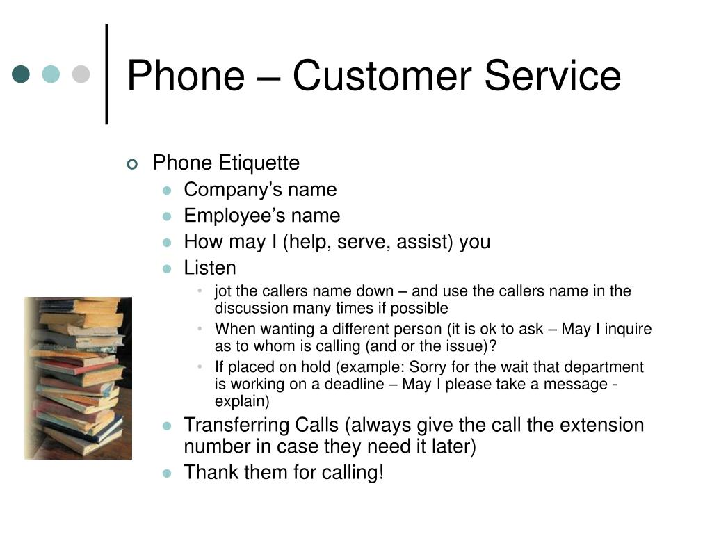 Phone – Customer Service