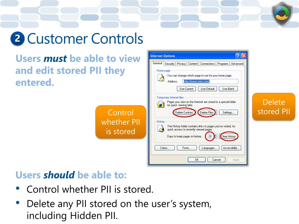 Customer Controls