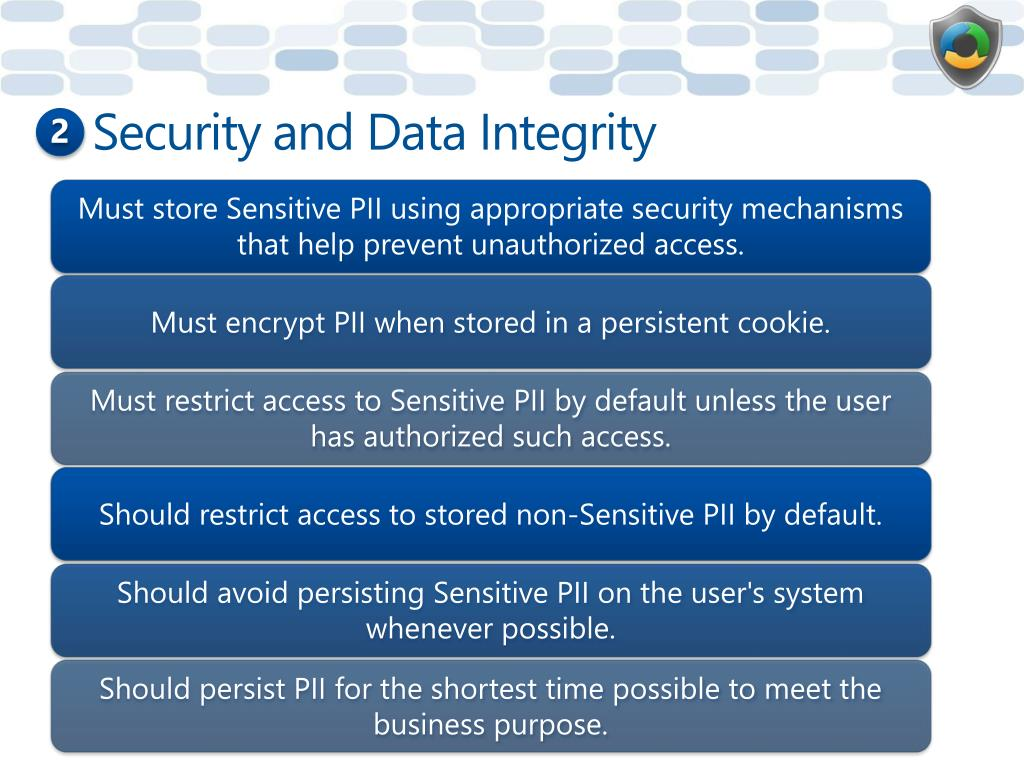 Security and Data Integrity