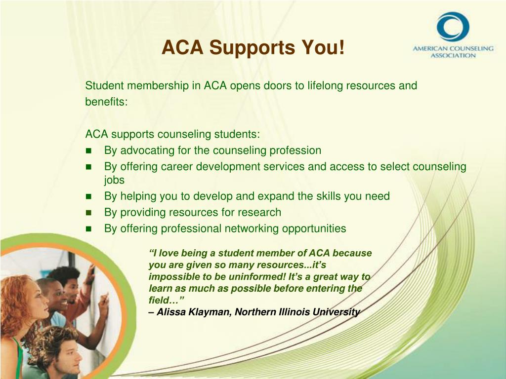 ACA Supports You!