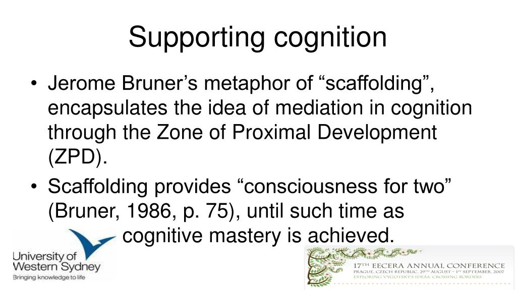 Supporting cognition