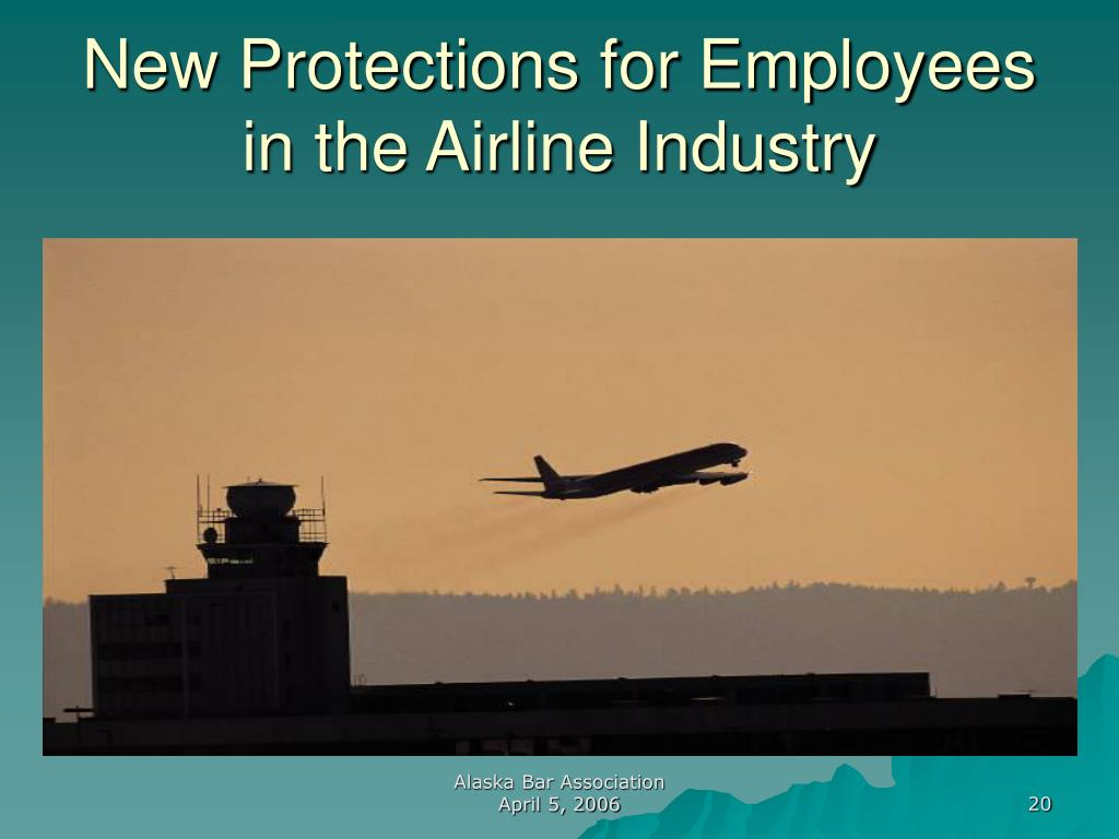 New Protections for Employees in the Airline Industry