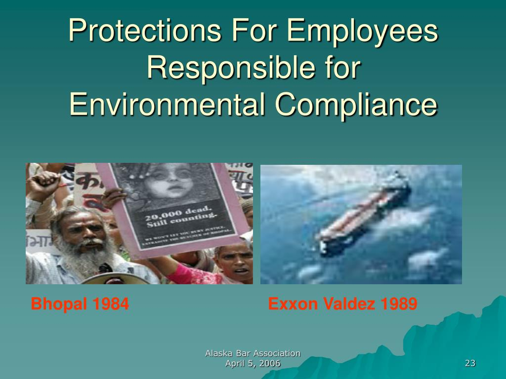 Protections For Employees Responsible for