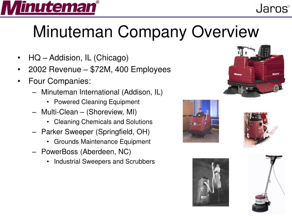 Minuteman Company Overview