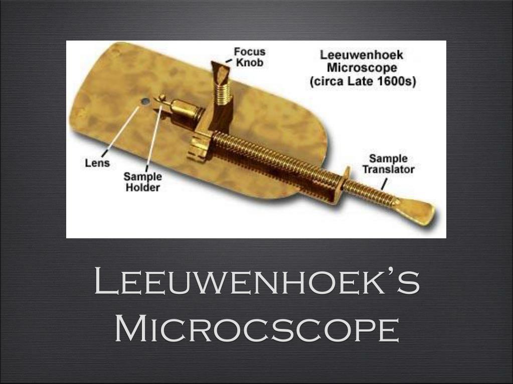 Leeuwenhoek's Microcscope