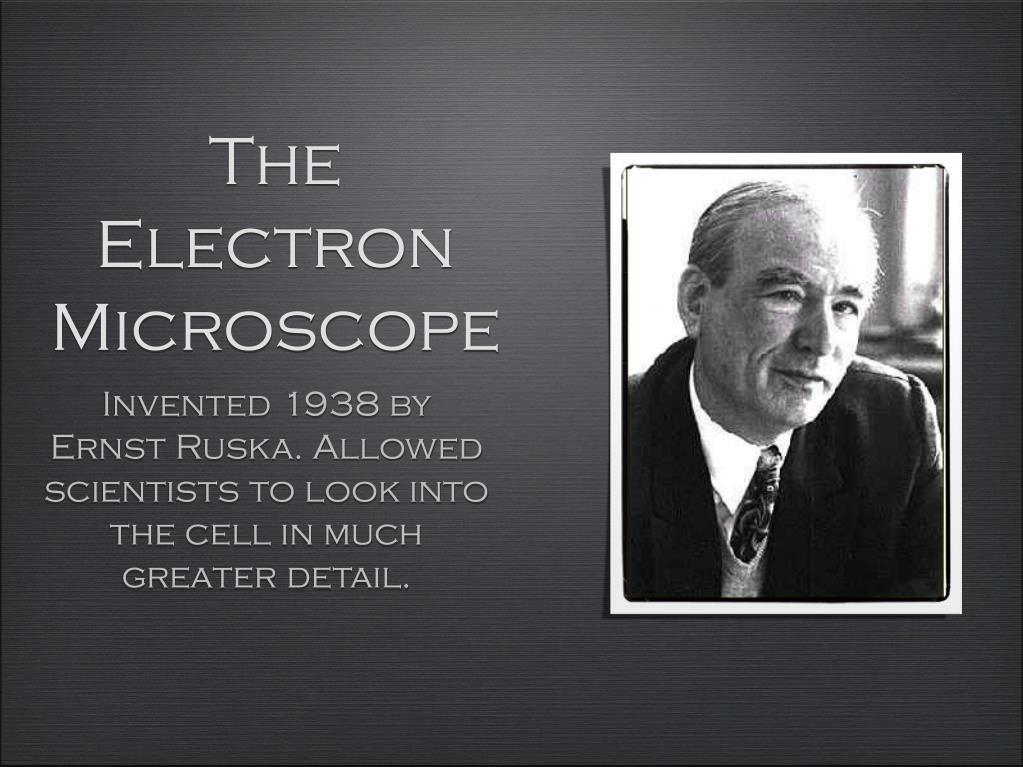 The Electron Microscope