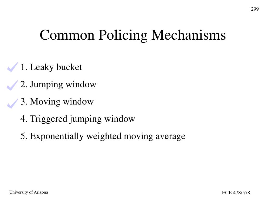Common Policing Mechanisms