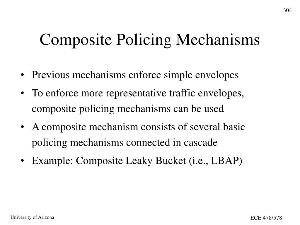 Composite Policing Mechanisms