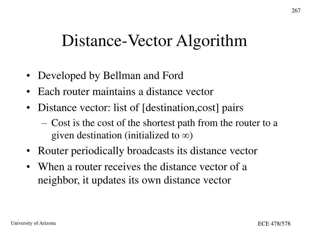 Distance-Vector Algorithm